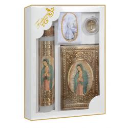 Biblia bolsillo Baño de Oro Plata