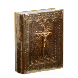 Biblia Gde Repujado Cristo