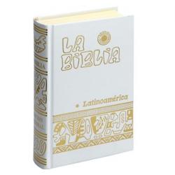 Biblia Latino. Bolsillo Blanca