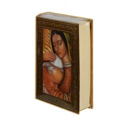 Biblia CH Repujado Virgen/Papa