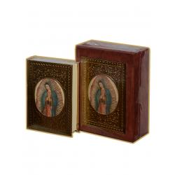 Biblia CH Madera CC Ovalo Oro